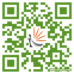 QR code with logo 1TCH0