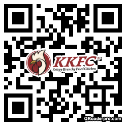 QR code with logo 1TDk0