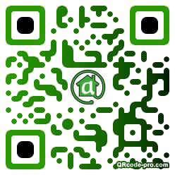 QR code with logo 1TEU0
