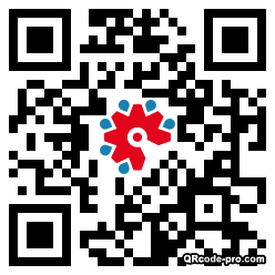 QR code with logo 1TEm0