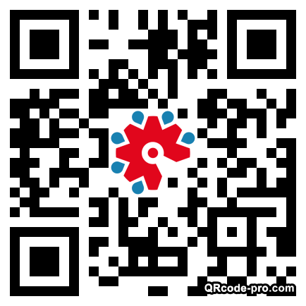 QR code with logo 1TEq0