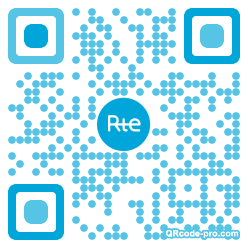 QR code with logo 1TF10