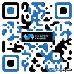 QR code with logo 1TH00