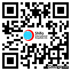 QR code with logo 1THg0