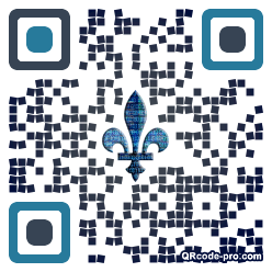 QR code with logo 1TLh0