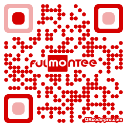 QR code with logo 1TNF0