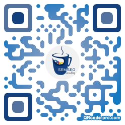 QR code with logo 1TPe0