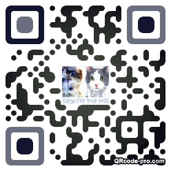QR code with logo 1TQK0