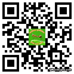 QR code with logo 1TQS0