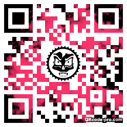 QR code with logo 1TR80