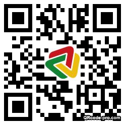 QR code with logo 1TRK0