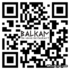 QR code with logo 1TVM0