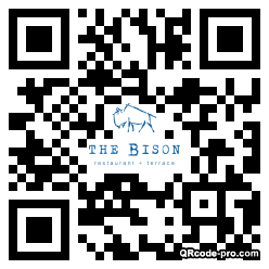 QR code with logo 1TVN0