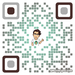 QR code with logo 1TWA0