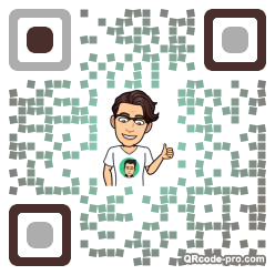 QR code with logo 1TWo0