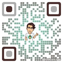 QR code with logo 1TWs0