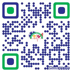 QR code with logo 1TYd0