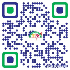 QR code with logo 1TZU0