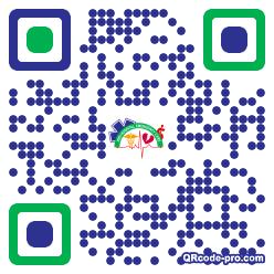 QR code with logo 1TZX0
