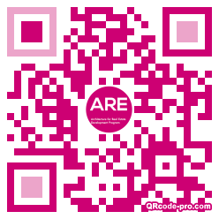 QR code with logo 1Tb80