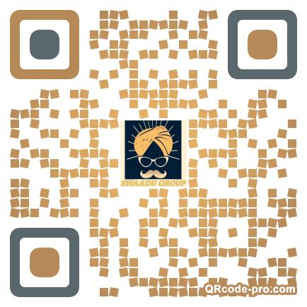 QR code with logo 1TeA0