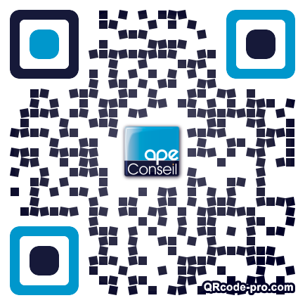 QR code with logo 1TfZ0