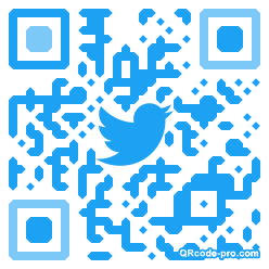 QR code with logo 1Tfg0