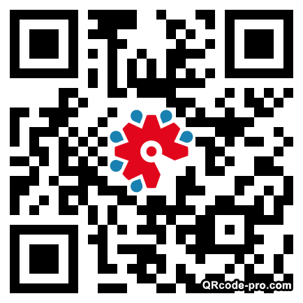 QR code with logo 1Tjf0