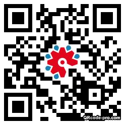 QR code with logo 1Tjk0