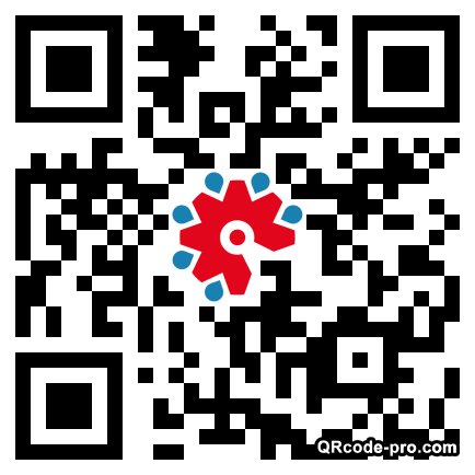 QR code with logo 1Tjq0