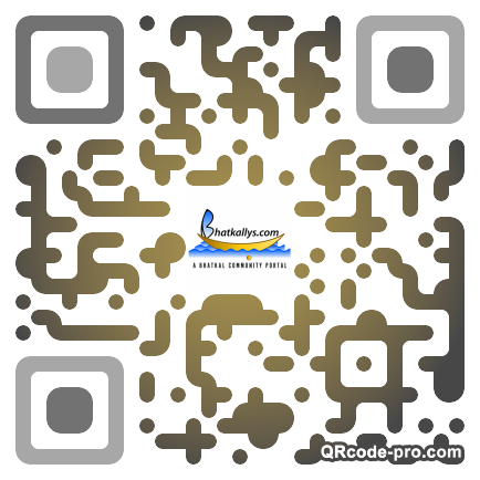 QR code with logo 1TrD0