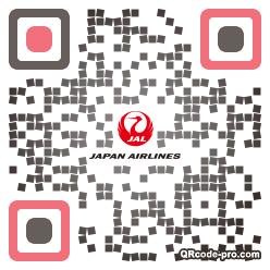 QR code with logo 1U090