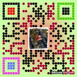 QR code with logo 1U0l0