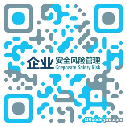 QR code with logo 1U1X0