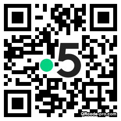 QR code with logo 1U4t0