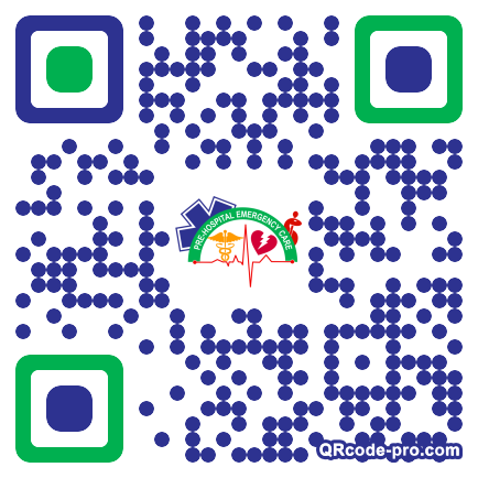 QR code with logo 1U710