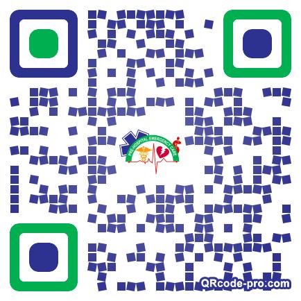 QR code with logo 1U9V0