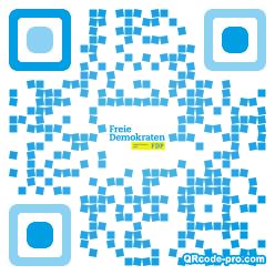 QR code with logo 1UNA0