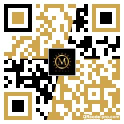 QR code with logo 1URW0