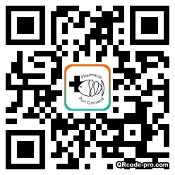 QR code with logo 1UXE0