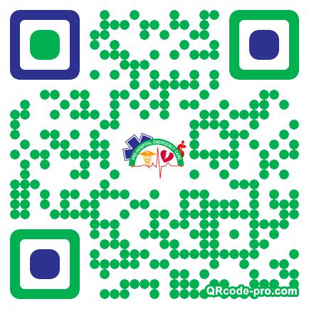 QR code with logo 1Ua40