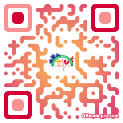 QR code with logo 1UaD0