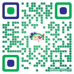 QR code with logo 1Uac0