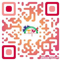 QR code with logo 1Uav0