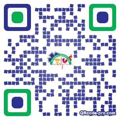 QR code with logo 1Uax0