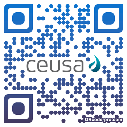QR code with logo 1UsD0