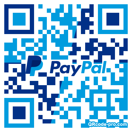 QR code with logo 1Uv90