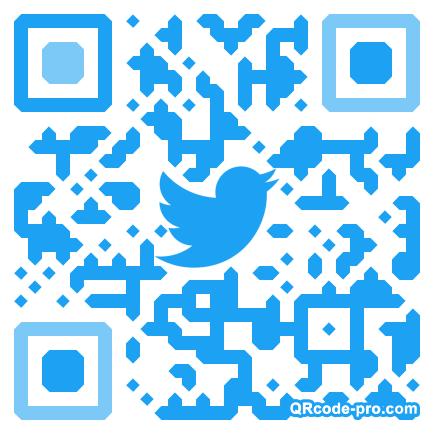 QR code with logo 1V9I0