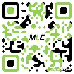 QR code with logo 1VBg0