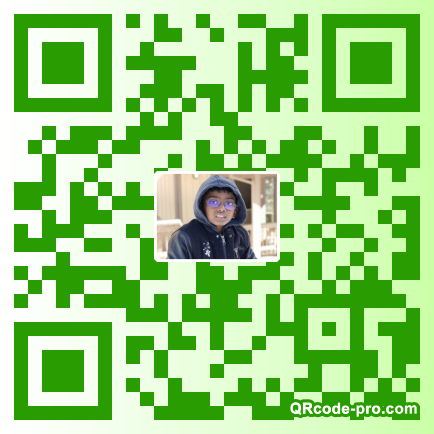 QR code with logo 1VCC0